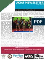 UKMF Newsletter February 2019 Issue 3