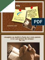 Palabra de vida - Septiembre 2018 - PPS Italiano