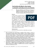 008 - Campos, R.H.F., de Gouvea, M. C. S., & Guimarães, P. C. D. (2014). A recepção da obra de Binet e dos testes psicométricos no Brasil. Rev. Br. de Hist. da Educação,14(2),215-242.pdf