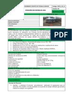 Procedimiento Escrito de Trabajo Seguro Operacion Camion Cisterna