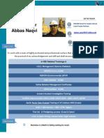Syed Qaisar Naqvi CV Update