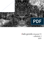 Vlado Goreski ,Drypoint VI, Cathedral - 2