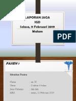 LAPJAG 11 Februari 2019