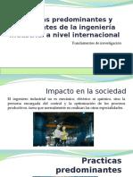 Practicas emergentes de la Ing. Industrial