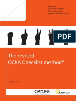 Revised OCRA Checklist Book
