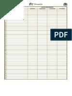 FSD - Ficha de Solicitação de Documentos