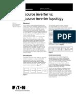 Current Source Inverter (CSI) vs. Voltage source inverter (VSI) topology