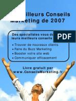 Conseils Marketing 2007