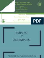 Macroeconomia Empleo y Desempleo