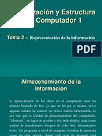 organizacion del computador