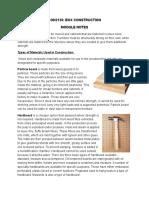 CON2130 Supplemental Notes