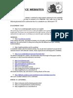 FCE Useful websites