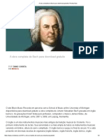 A Obra Completa de Bach Para Download Gratuito _ Revista Bula