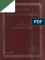 Nicolae Densusianu Dacia Preistorica