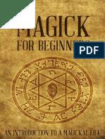 370182361 Magick for Beginners an Introd Sharon Fitzgerald.en.Pt