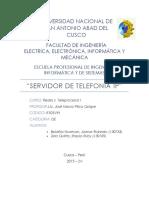 Servidor de Telefonia IP Final