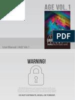AGE Vol 1 User Manual