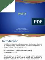 VAFO Ventilacion de Alta Frecuencia - Torres Salinas Carlos Hugo