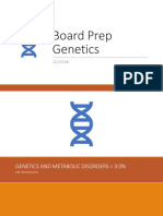 Board Prep Genetics Dec 2018