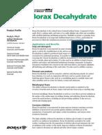 Profile Borax Dec a Hydrate