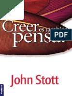 Creer es también pensar - John Stott.pdf