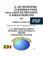 Manual de Necropsia de Aves Marinas Para - Thierry M. Work