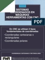Sistemas Coordenados en Maquinas Herramientas Con Cnc