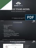Alliage Titane-Nickel - Présentation