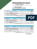 Plan Sistemas Plan de Estudios Maestrias Vigentes Upg Fiis
