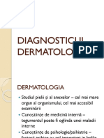Diagnosticul dermatologic