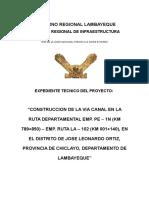 Diseño Pavimentos Flexible Av Chiclayo
