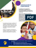 Brochure Certificación Competencias