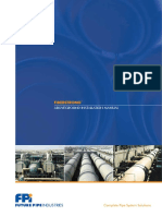 Fiberstrong Piping System Above Ground Installation Manual 1