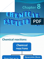 Ch 8_Chemical Equilibrium