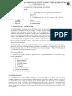 informe de actividades del 1° Quimestre 17-18