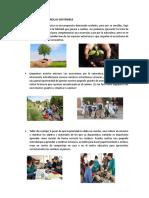 Avtividades de Desarrollo Sostenible