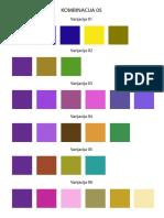 Colors combinations 05