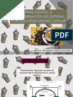 Determinación de Cafeína Por Electroforesis Capilar