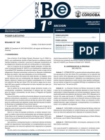 Boletín Oficial Junta Electoral Provincial