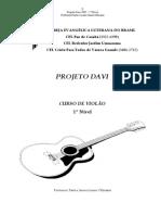 Curso de Violão - Projeto Davi