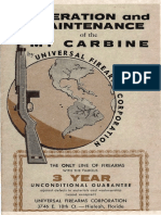 Operation Maintenance M1 Carbine