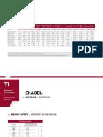 Informacion Tecnica Ekabel