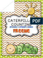 Caterpillar Counting Freebie Common Core Math for Kindergarten