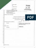 John Fry Criminal Complaint and Summons