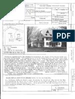 Lloyd Farm Application for Historic Designation 1982