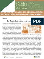 Efemerides Patrias. 23 de Enero de 1958