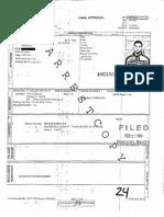 Jussie Smollett arrest report