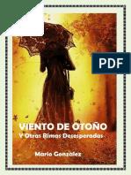 VIENTO de OTOÑO Y Otras Rimas Desesperadas -Mario Gonzalez