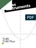 Ti89 Manual