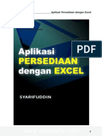 eBook Software - Aplikasi Stok Persediaan Excel